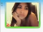 Priscila Pires do BBB 9 se exibindo na Webcam