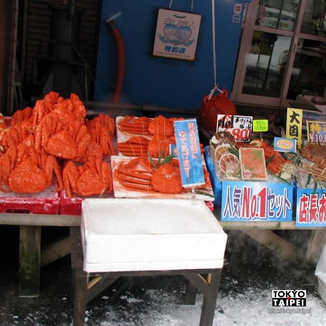 【函館朝市】從釣烏賊到高檔海鮮 好吃好玩好好逛的市場