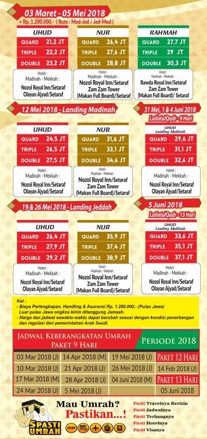 Paket Umroh 2018 Travel Alhijaz Indowisata