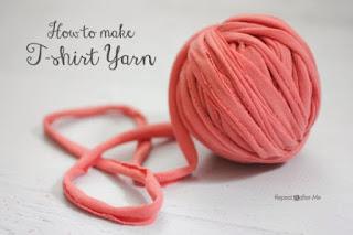 Make T-Shirt Yarn