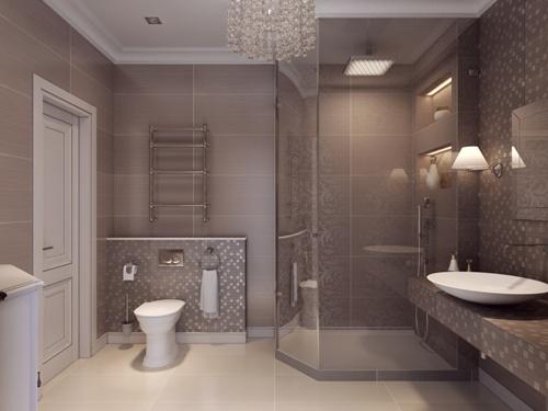 Cara Desain Interior Kamar Mandi Nuansa Klasik