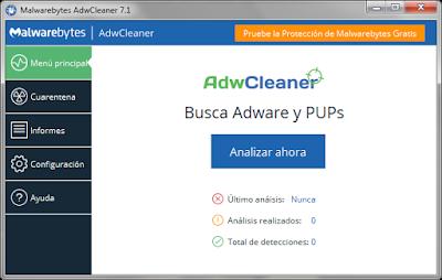 Eficaz herramienta para eliminar adware, toolbars e hijackers de tu PC