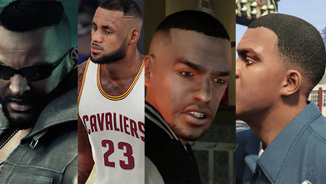 video game hairstyles