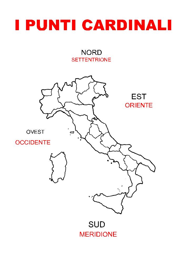Regioni Italiane Da Colorare
