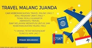 Promo Travel Juanda Malang