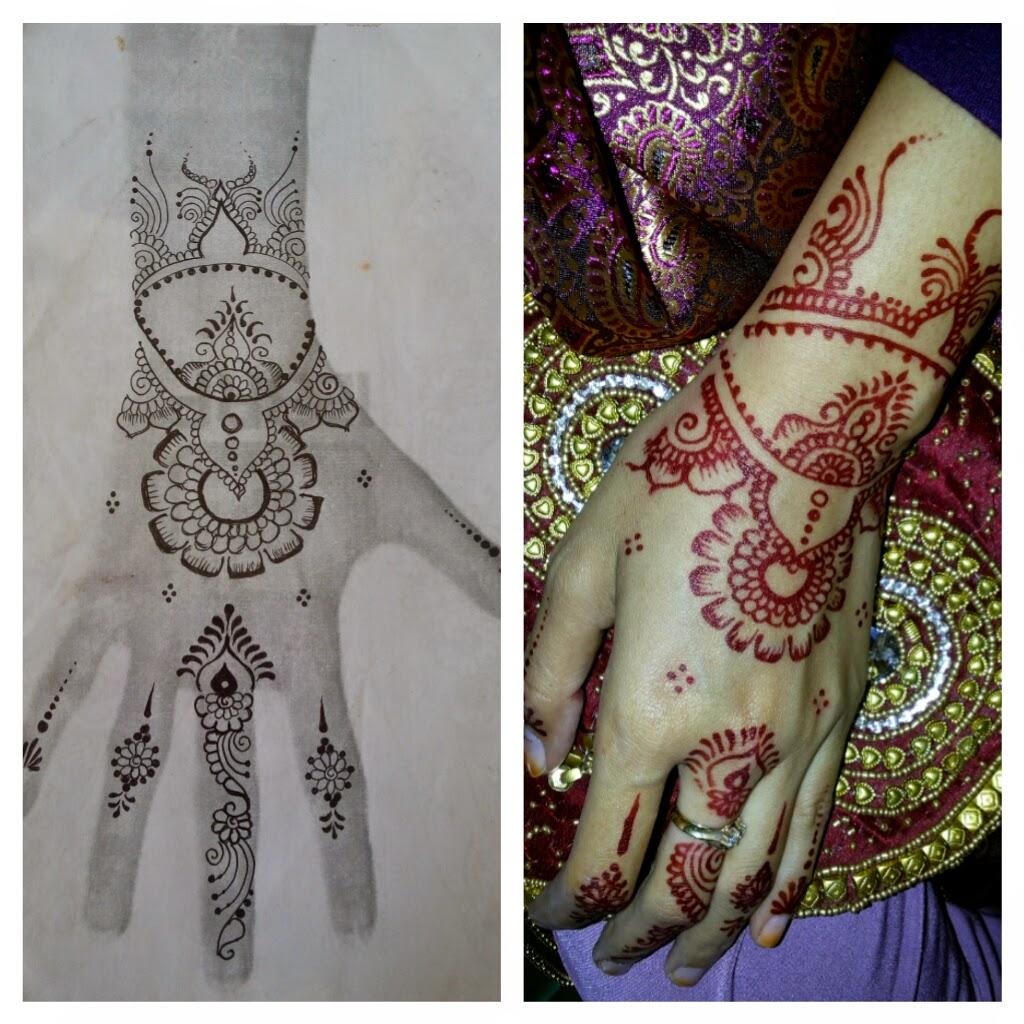 INDAH HENNA DESIGN HENNA WEDDING 2014