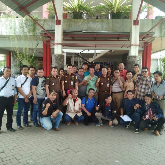 Kajari Oi Gelar Silaturahmi Bersama PWI