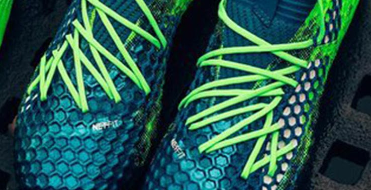 442ee94ef6be The sole plate of the Puma Future 18 features a micture of conical and  bladed studs. The Deep Lagoon, Green Gecko and White ...