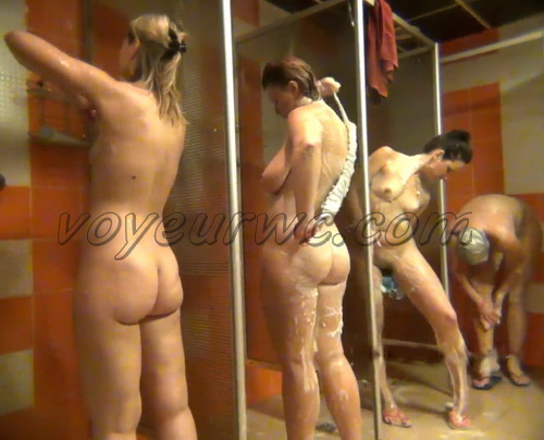 Shower Spy 239-248 (Hidden Camera in a Fitness Club Shower)