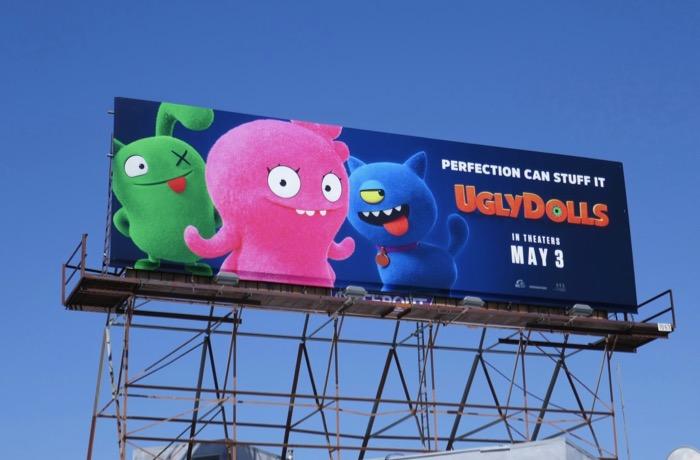 Ugly Dolls movie billboard