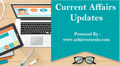 Current Affairs Update - 3rd August 2017