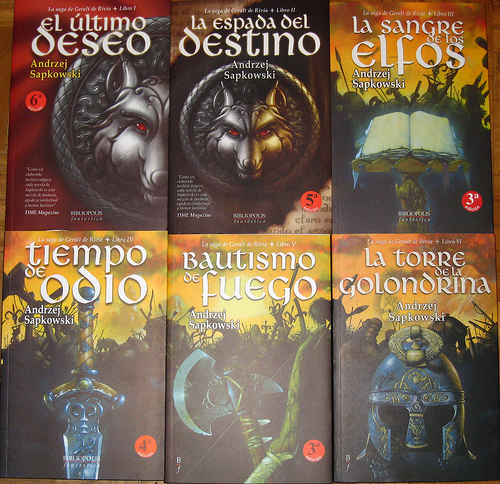Libros De The Witcher Materia Oscura: The Witcher: Geralt De Rivia.(andrzej