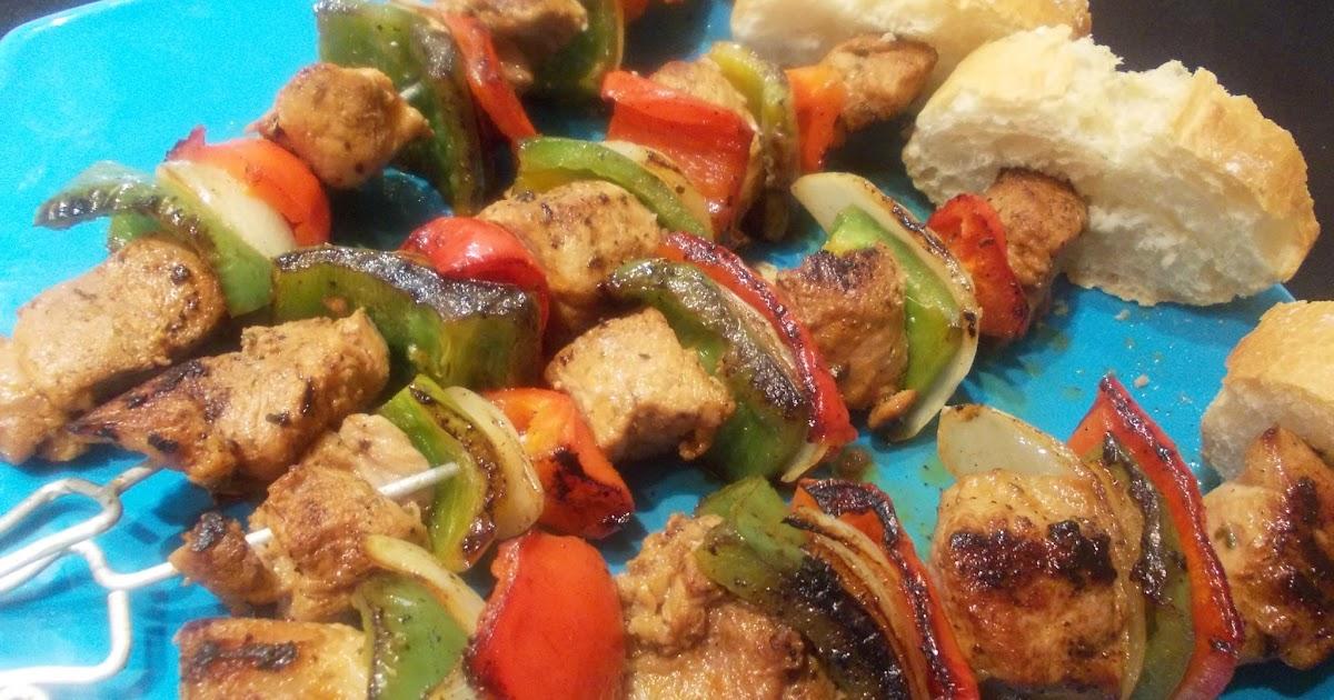 Caceroladas pinchos morunos de cerdo y verduras caseros - Como preparar pinchos de pollo ...