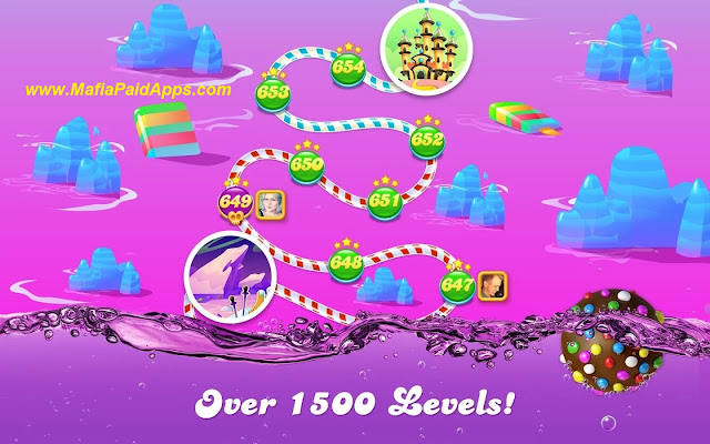 Candy Crush Soda Saga Mod(Unlimited Lives-Unlimited Boosters) Apk MafiaPaidApps