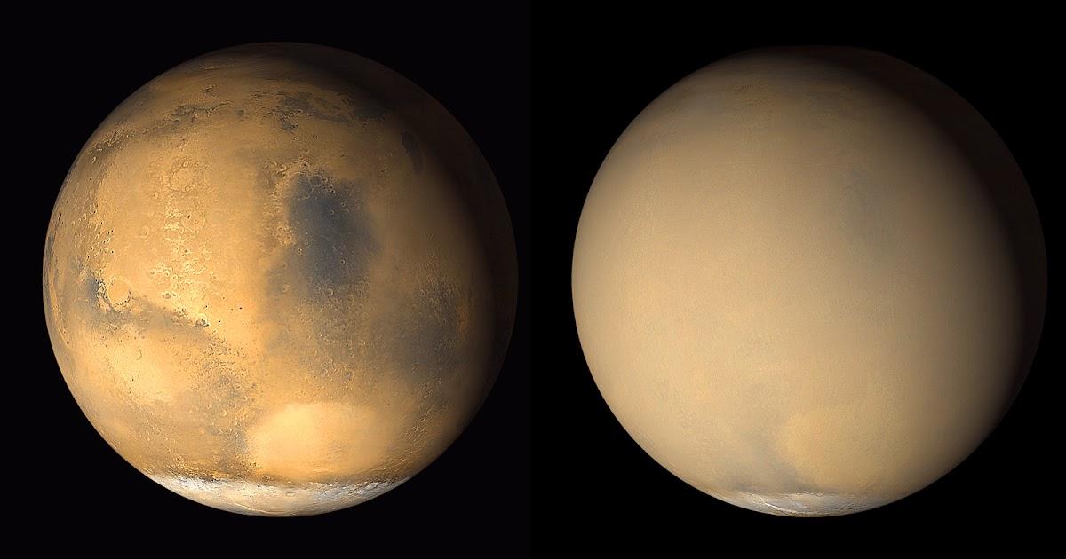 Marte, una tempesta globale all'orizzonte?