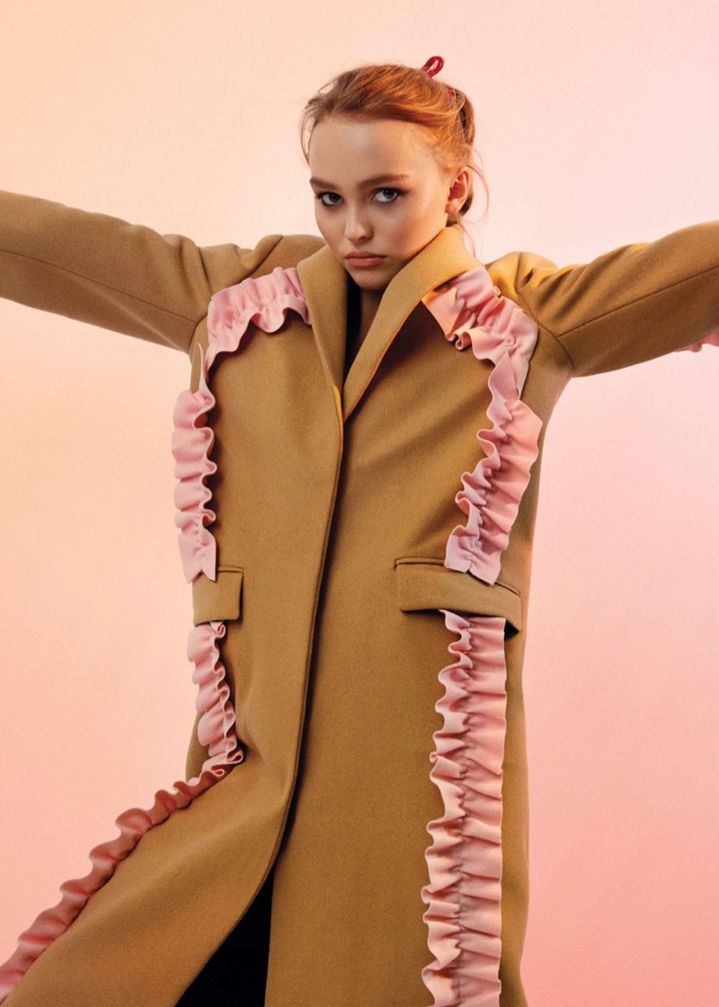 Lily-Rose Depp Covers V Magazine's New Digital Cover