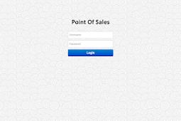 Aplikasi Penjualan (Point Of Sales) Berbasis Web dengan PHP dan MySQL Free download