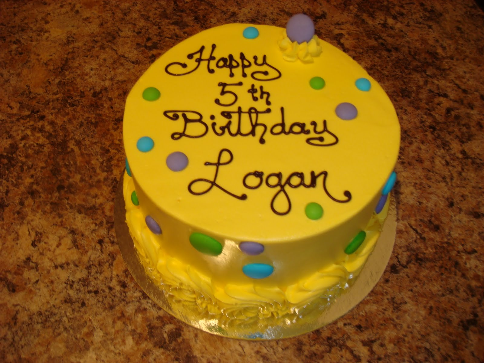Happy Th Birthday Logan Cakes