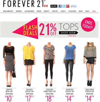 Love Forever 21? Here are a bunch of stores just like it.