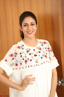 Lavanya Tripathi in Summer Style Spicy Short White Dress at her Interview  Exclusive 201.JPG