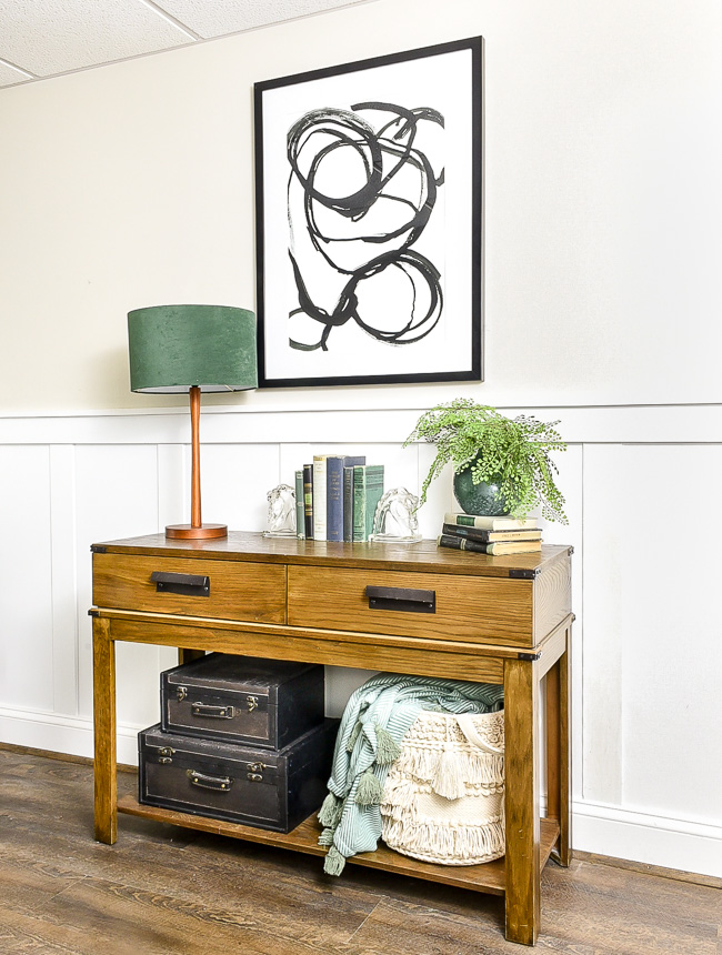 how to style the perfect entry table
