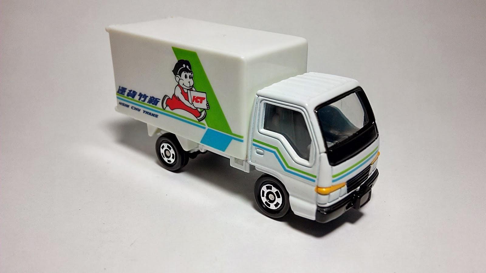 【NO83】ISUZU ELF 新竹貨運配送車-非賣品