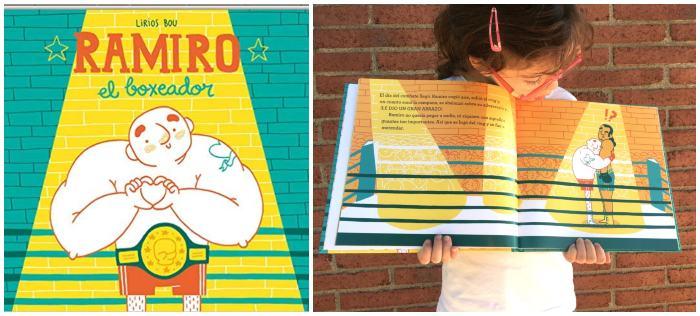 mejores cuentos libros infantiles de 5 a 8 años ramiro el boxeador andana