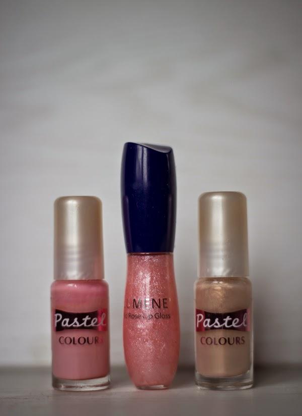 huulikiilto Lumene pastel nail polish lip gloss