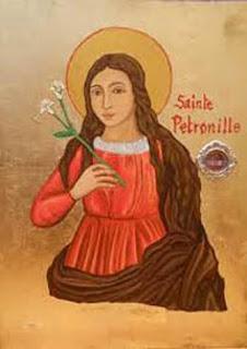 Sainte Pétronille, Patronne du Royaume de France