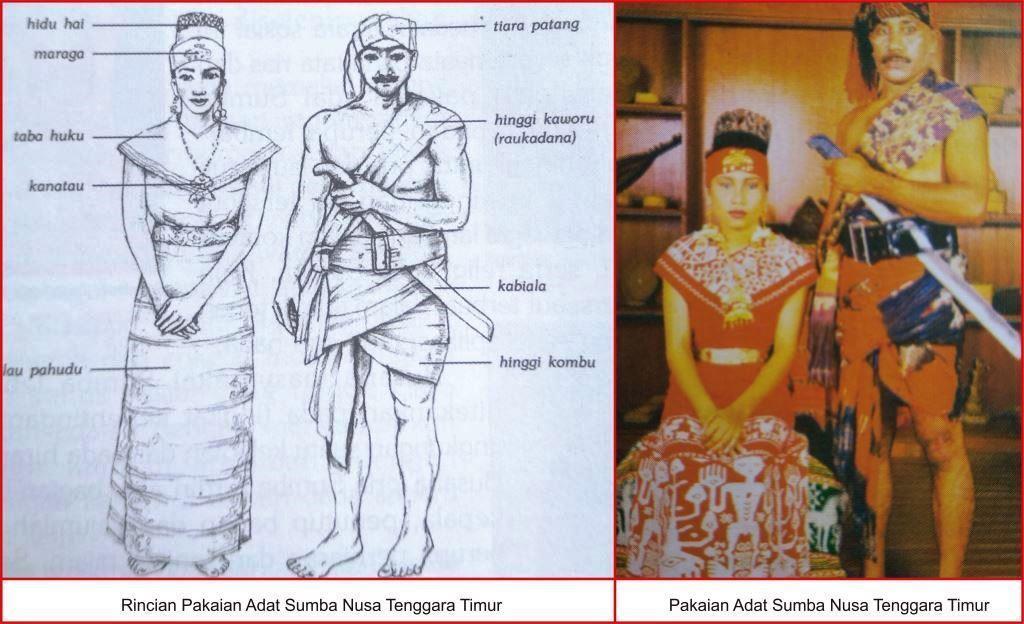 Pakaian Adat Nusa Tenggara Timur Lengkap Gambar Dan Penjelasannya