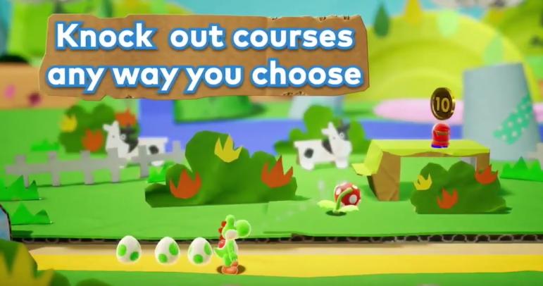 Se presenta el juego Yoshi para Nintendo Switch en 2018