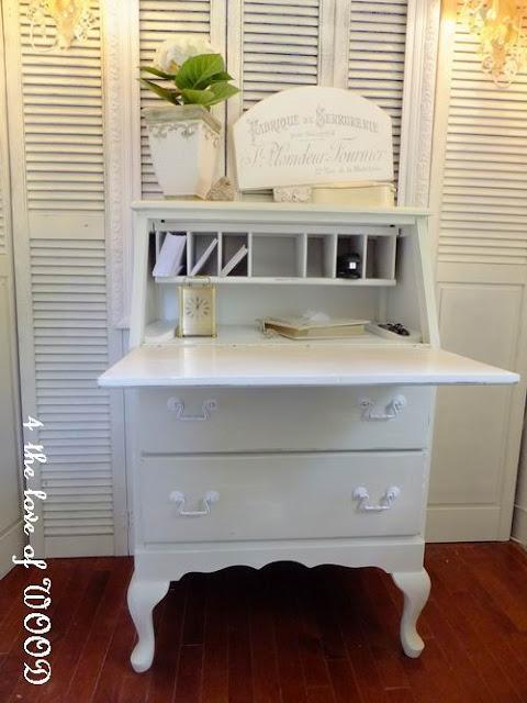 remove broken drawer-add legs