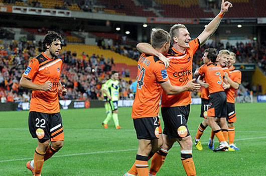 Brisbane Roar vs Perth Glory www.nhandinhbongdaso.net