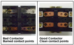 Bad Contactor Points