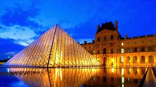 Museu do Louvre e seu videogame portátil 3D