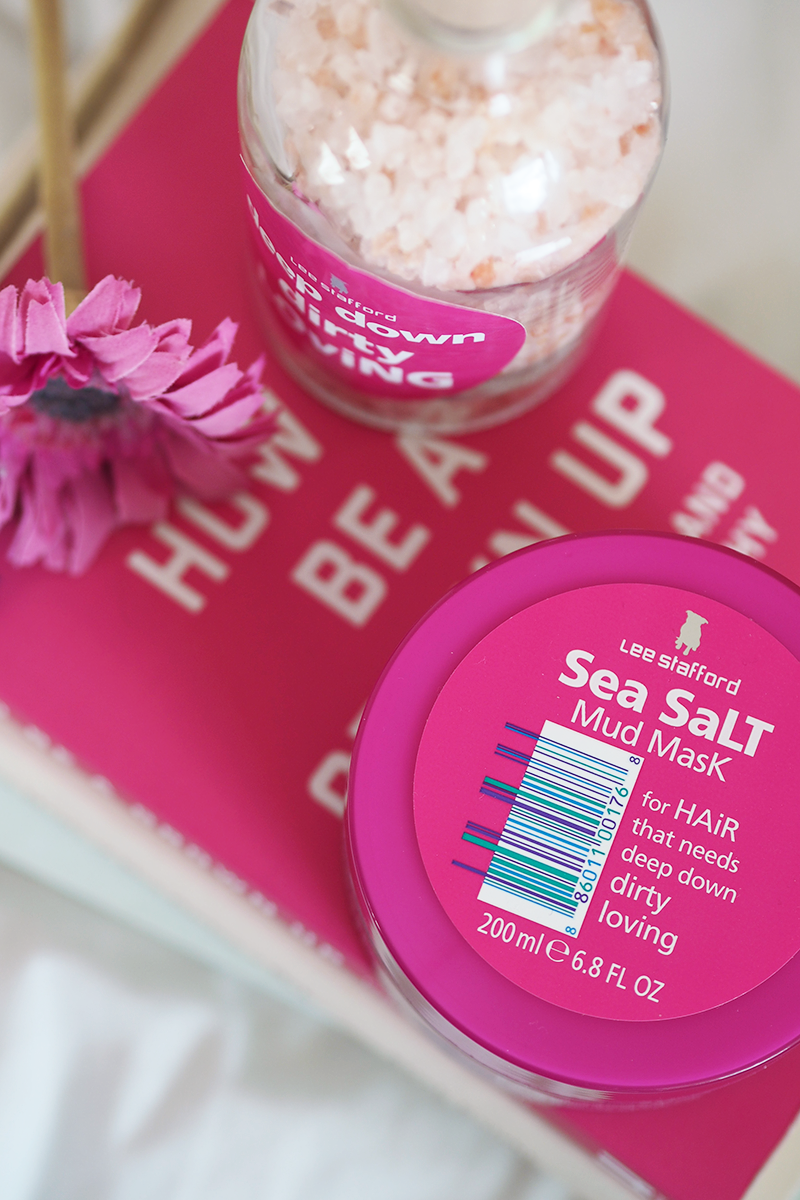 Lee Stafford Sea Salt Mud Mask Hair Review | Colours and Carousels - Scottish Lifestyle, Beauty and Fashion blog