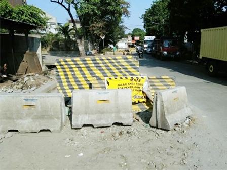 Kontraktor Box Ducting Jl Lodan Raya Diberi Surat Peringatan
