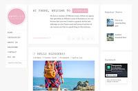 The Luvblog HTML5 blogger template desain kustom minimal blogging pribadi, portofolio template untuk menampilkan karya seni.