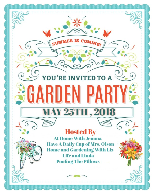 Next Garden Party May 25th