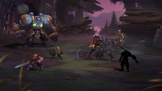 Battle Chasers Nightwar iOS Wallpaper