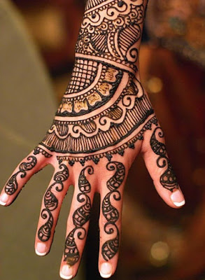 2. Shaded Mehndi