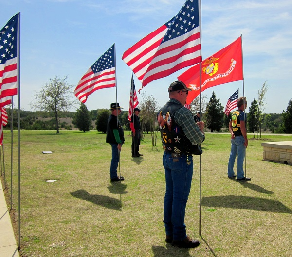 Standing for those who stood for us: GySgt Kenneth Moody