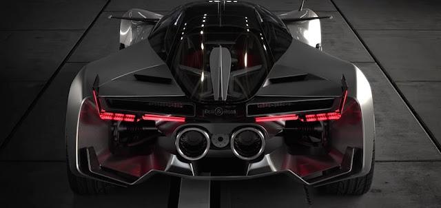 高級腕時計ブランド「ベル&ロス」がデザインしたスーパーカー「エアロGT」