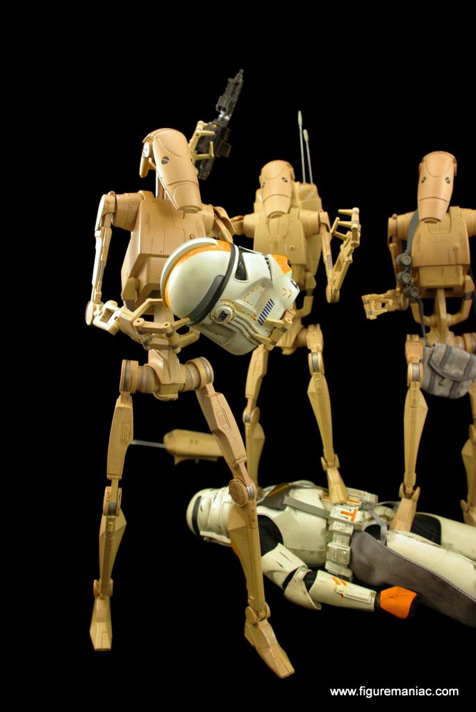 star wars battle droids part 7 figure maniac. Black Bedroom Furniture Sets. Home Design Ideas
