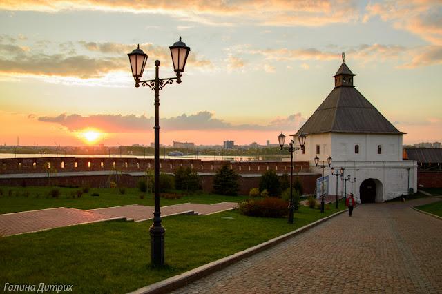 Кремлевская стена в Казани