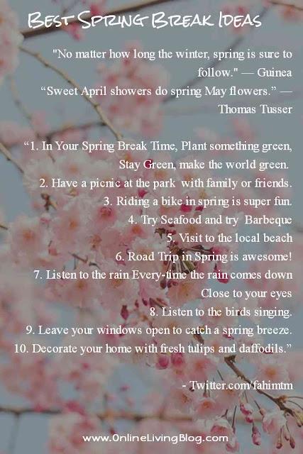 Things To Do Spring Break