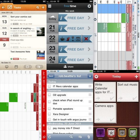 Week Calendar iPhone App