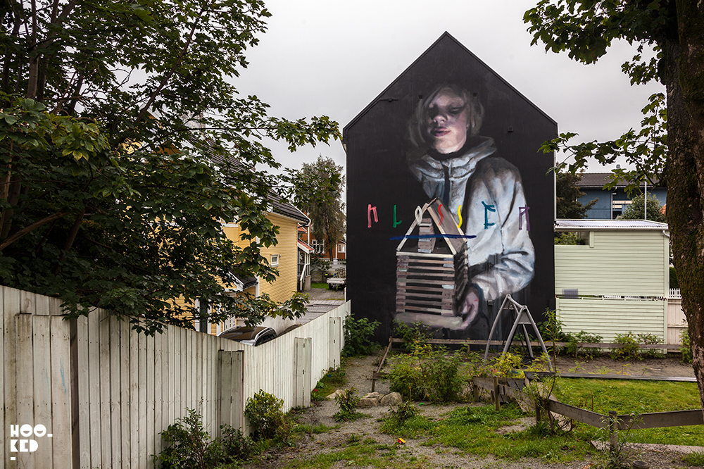 Axel Void, Street Art in Stavanger Norway. Photo ©Mark Rigney / Hookedblog