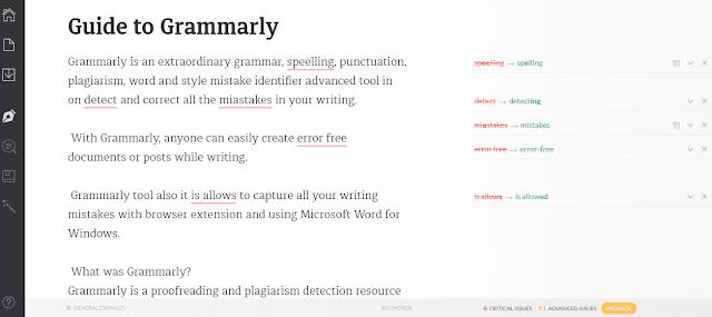 Grammarlyonline editor tool free