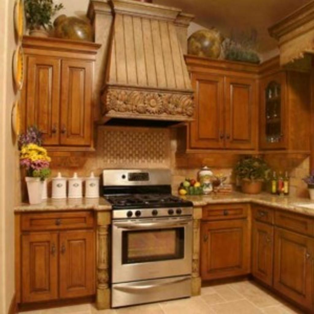 kitchen set dari kayu jati 4